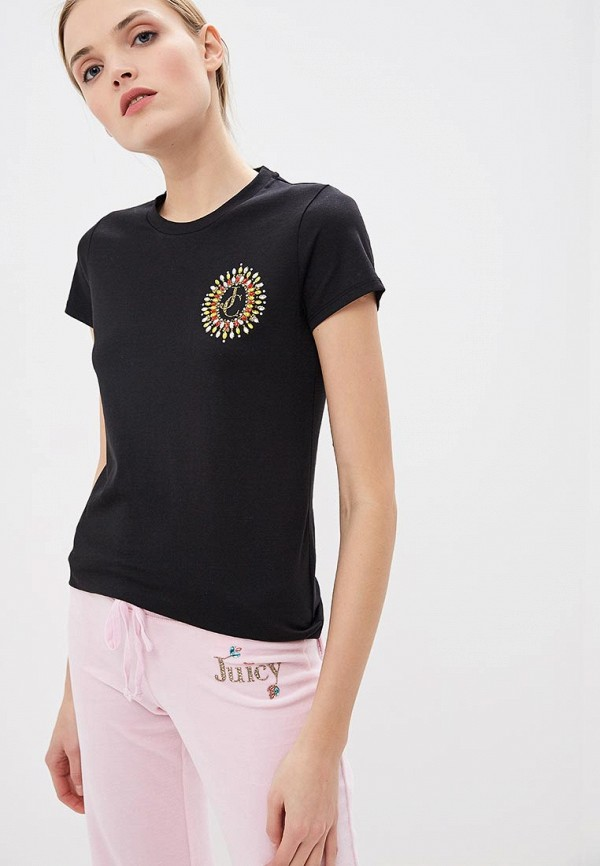 цена Футболка Juicy Couture Juicy Couture JU660EWDSUF1 онлайн в 2017 году