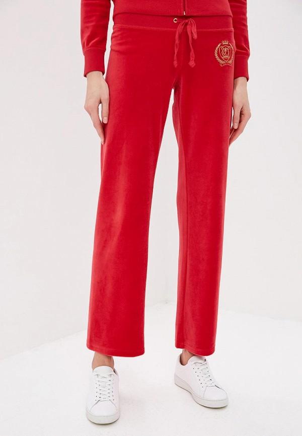 женские спортивные спортивные брюки juicy couture, красные