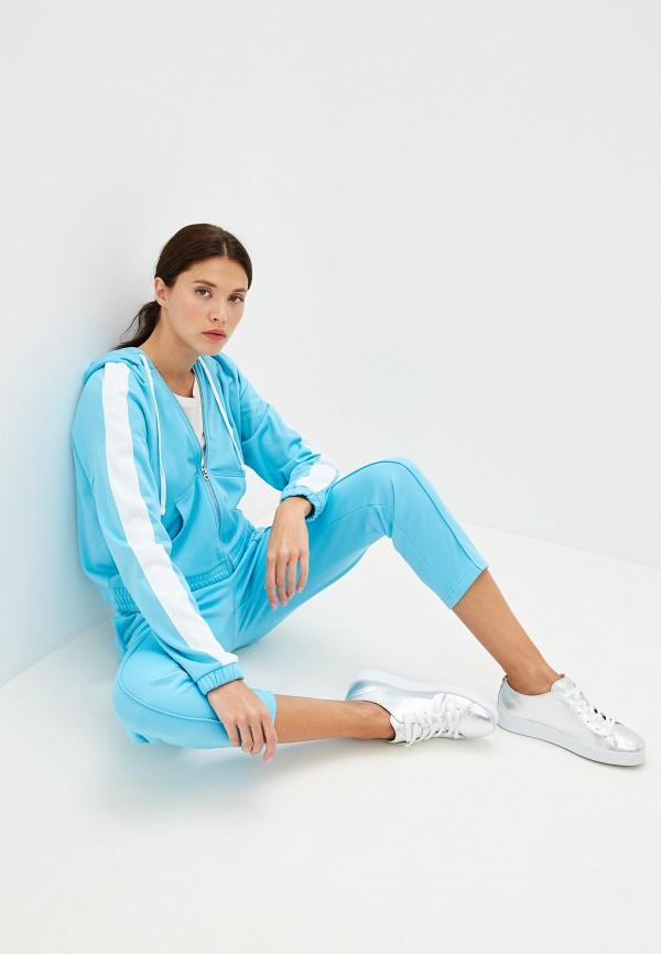 Фото 2 - женскую толстовку или олимпийку Juicy Couture голубого цвета