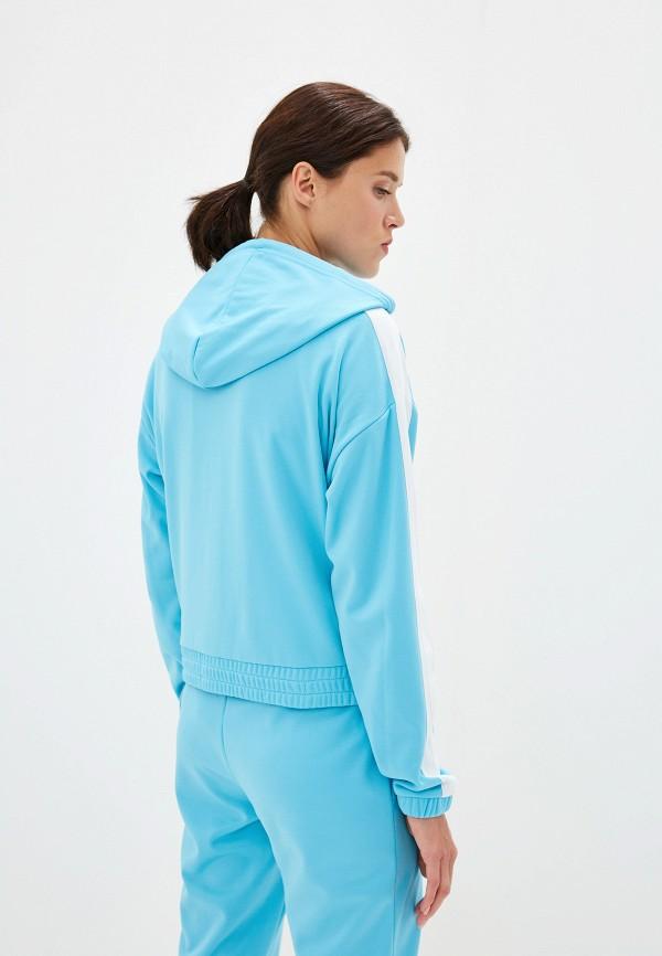 Фото 3 - женскую толстовку или олимпийку Juicy Couture голубого цвета