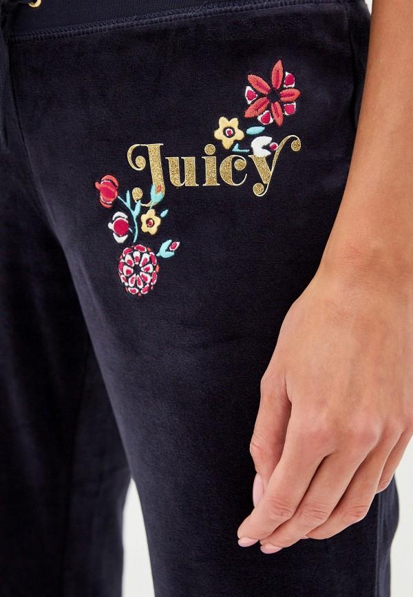 Фото 4 - Брюки спортивные Juicy Couture синего цвета
