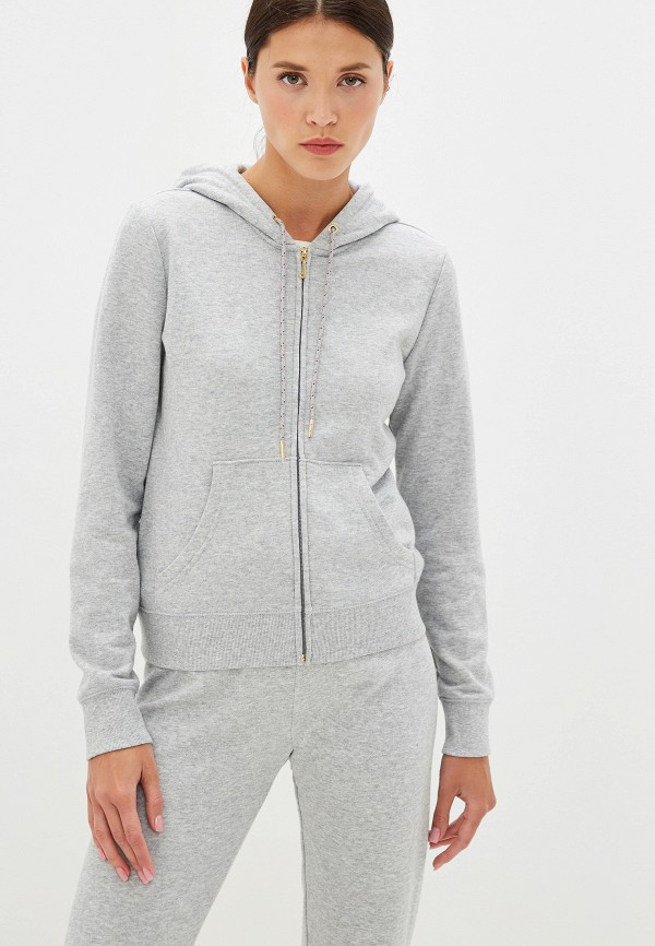 Фото - женскую толстовку или олимпийку Juicy Couture серого цвета