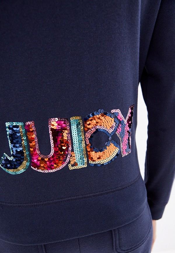 Фото 4 - женскую толстовку или олимпийку Juicy Couture синего цвета