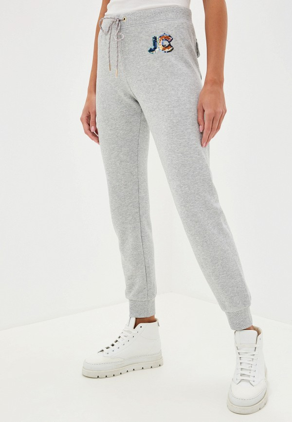 Фото - Брюки спортивные Juicy Couture серого цвета