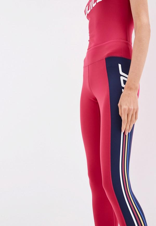 Фото 4 - женские леггинсы Juicy Couture бордового цвета