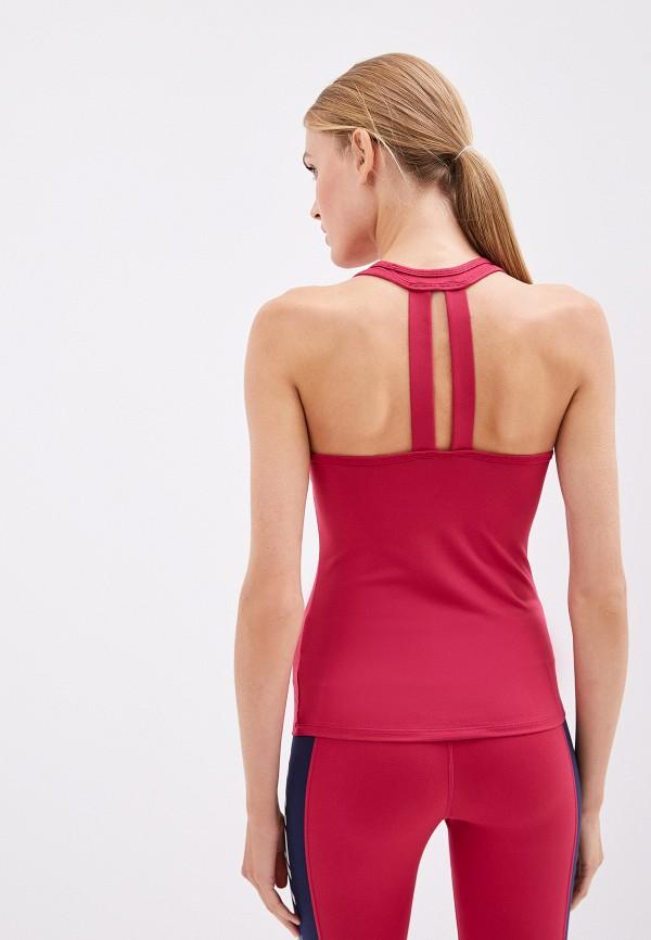 Фото 3 - женский топ Juicy Couture бордового цвета