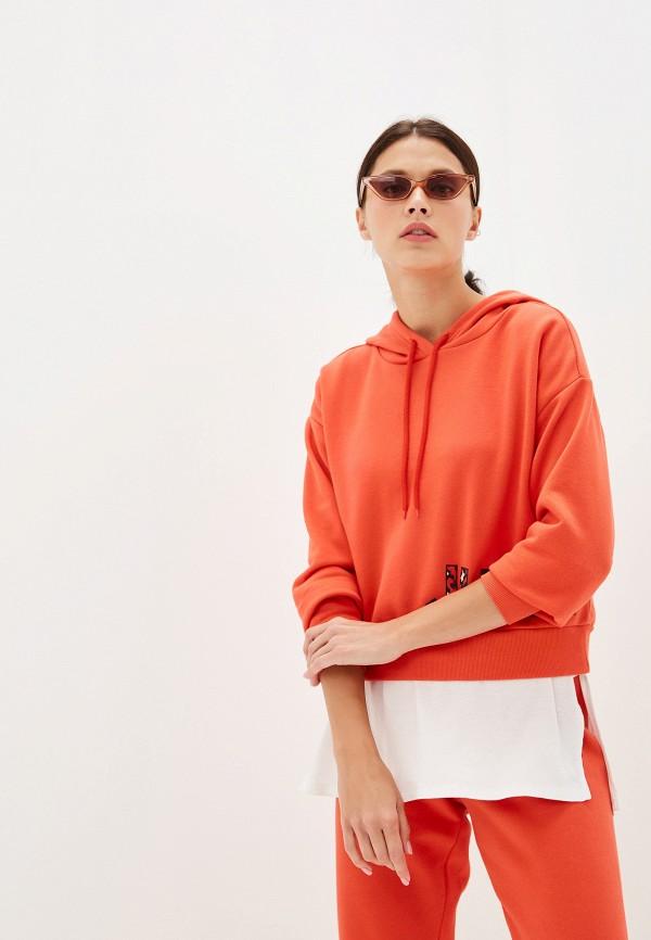 женские худи juicy couture, оранжевые