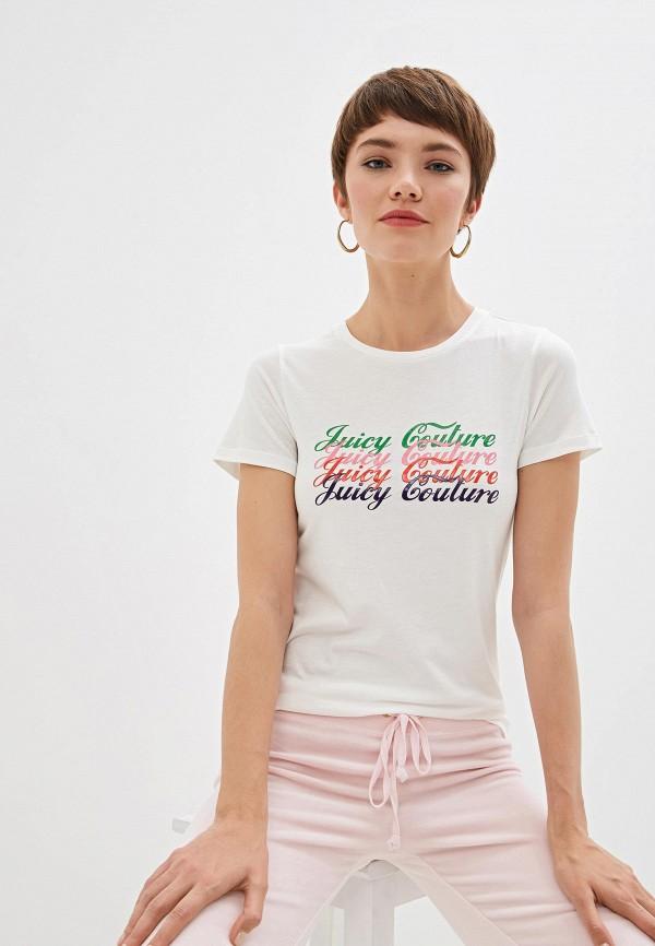 Фото - женскую футболку Juicy Couture белого цвета
