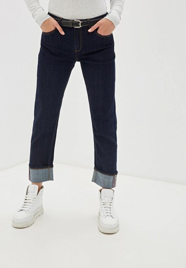 женские прямые джинсы juicy couture, синие