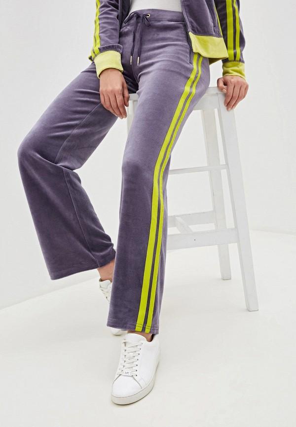 женские спортивные спортивные брюки juicy couture, фиолетовые