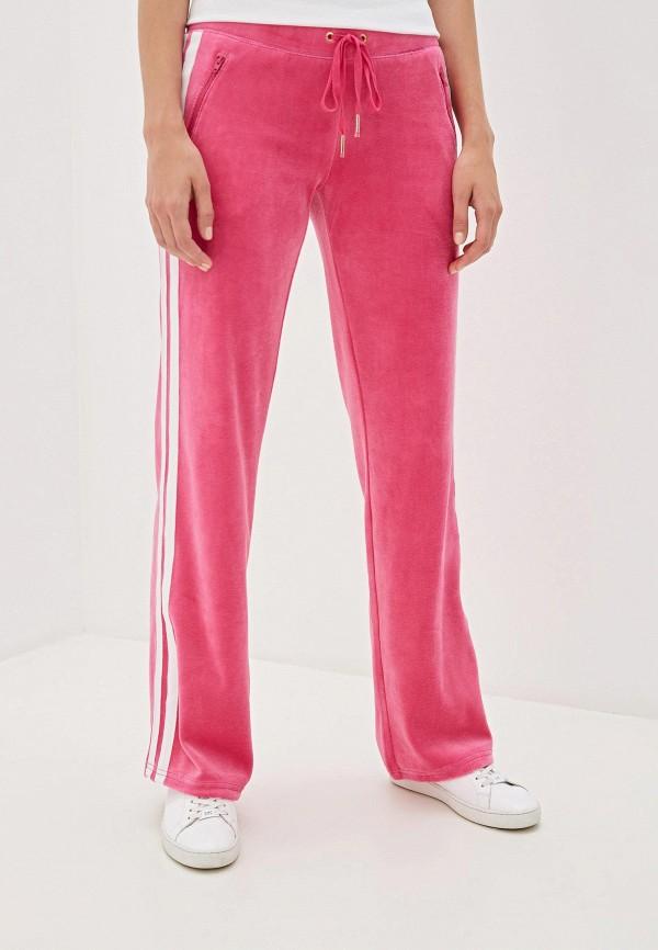 женские спортивные брюки juicy couture, розовые
