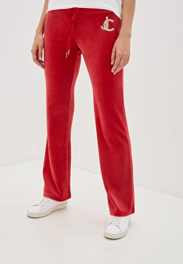женские спортивные брюки juicy couture, красные