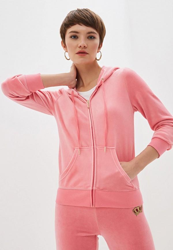 Фото - женскую толстовку или олимпийку Juicy Couture розового цвета