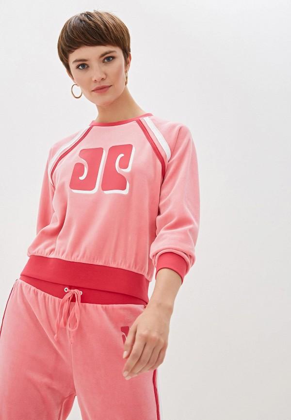 женский свитшот juicy couture, розовый