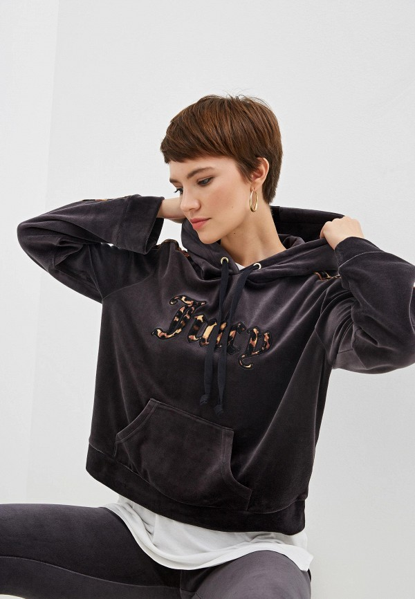 женские худи juicy couture, серые