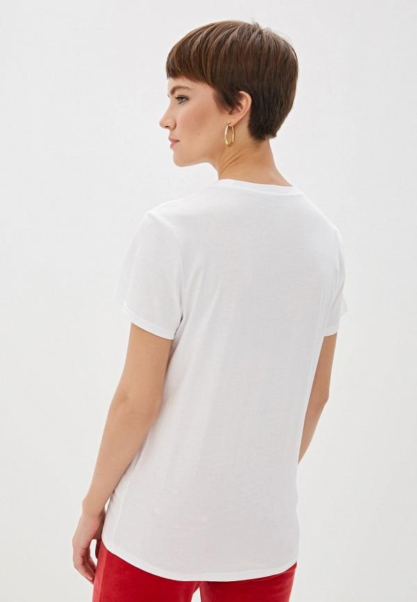 Фото 3 - женскую футболку Juicy Couture белого цвета