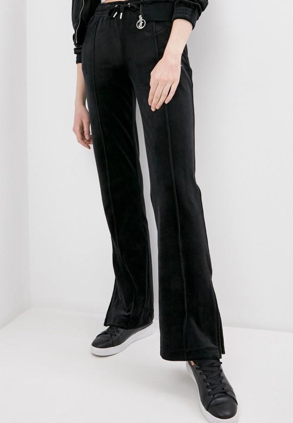 женские повседневные брюки juicy couture, черные