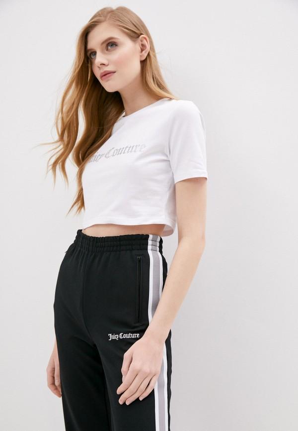 женская футболка juicy couture, белая