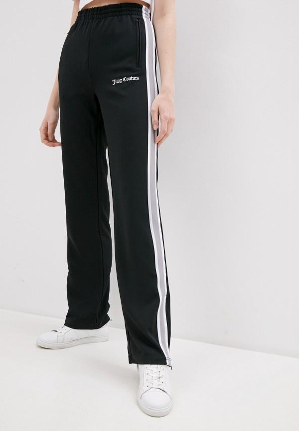 женские брюки джоггеры juicy couture, черные