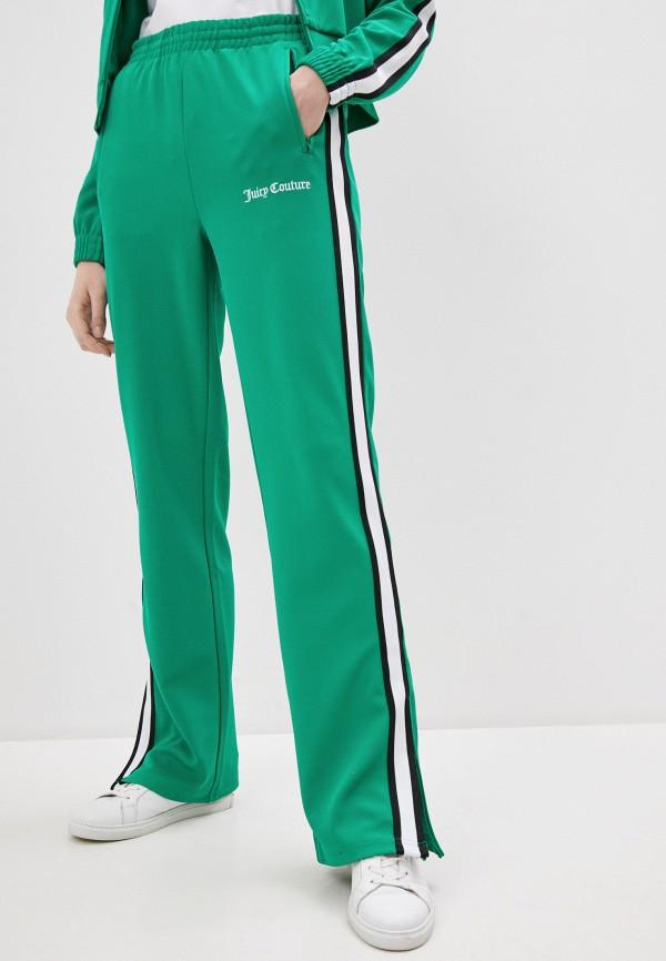 женские брюки джоггеры juicy couture, зеленые