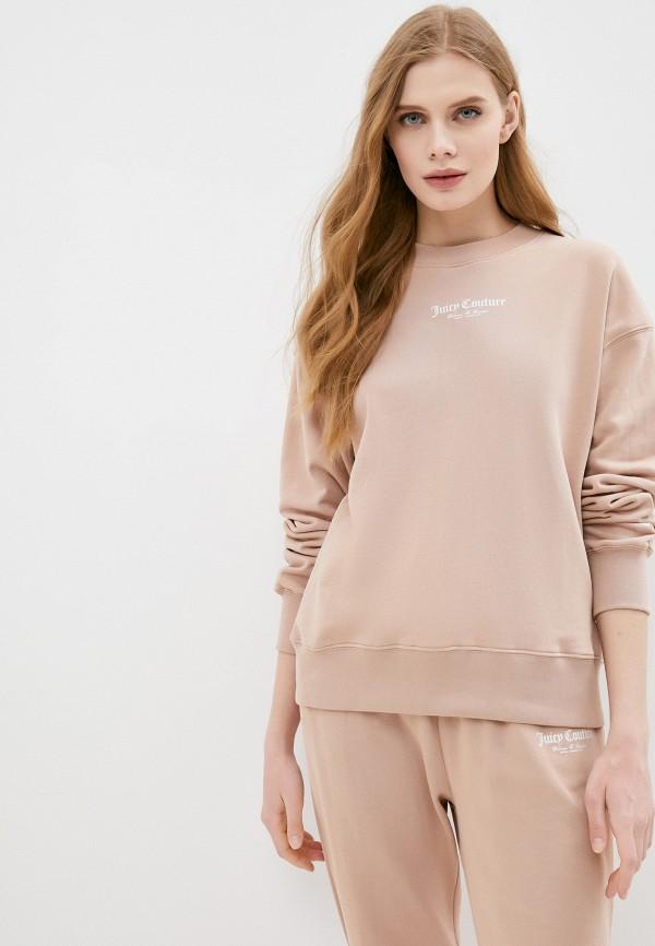 женский свитшот juicy couture, бежевый