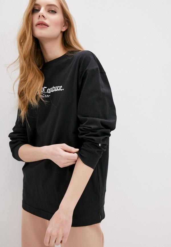 женский свитшот juicy couture, черный