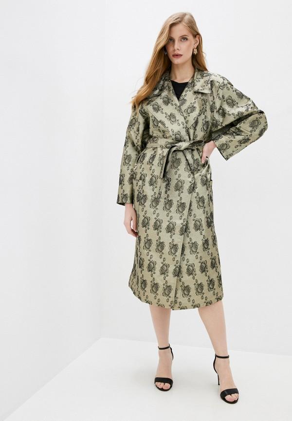 женский плащ juicy couture, золотой