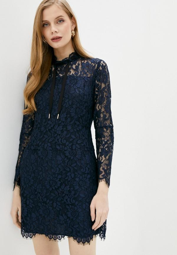 женское повседневные платье juicy couture, синее