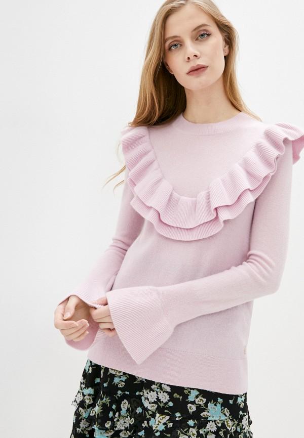 женский джемпер juicy couture, розовый