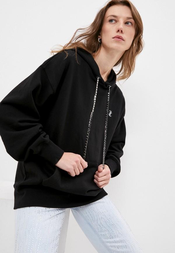женские худи juicy couture, черные