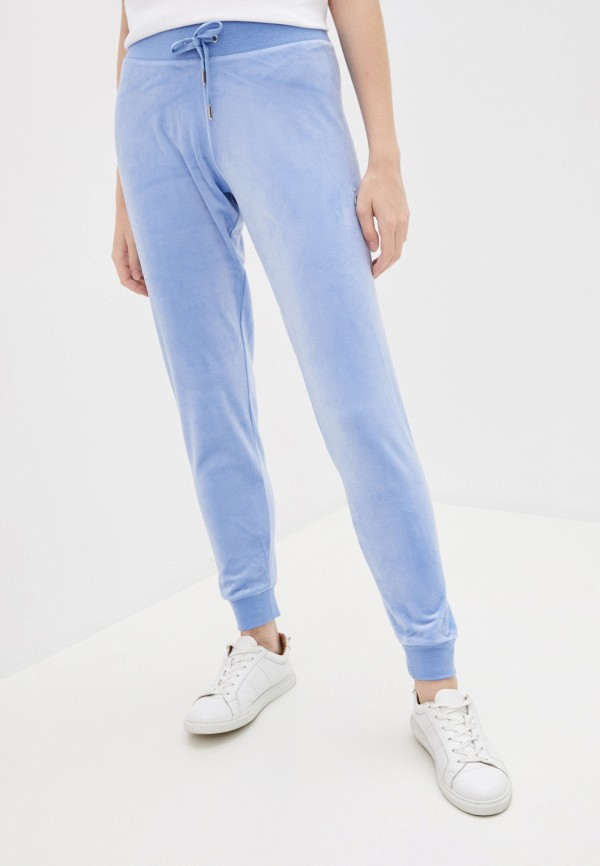 женские спортивные брюки juicy couture, голубые