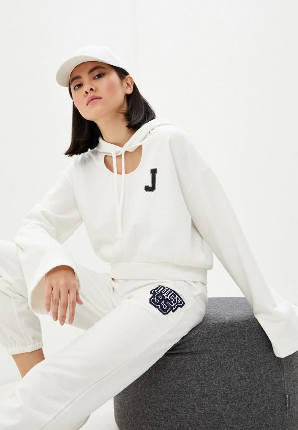 женские худи juicy couture, белые