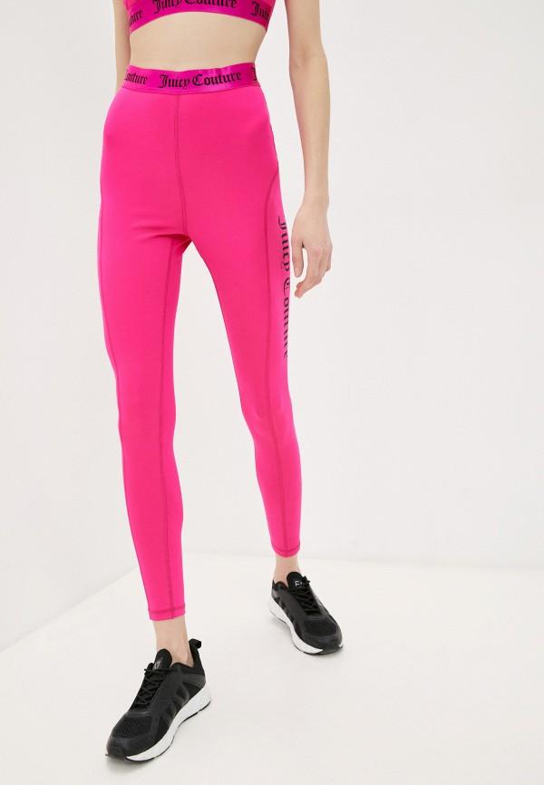 женские леггинсы juicy couture, розовые