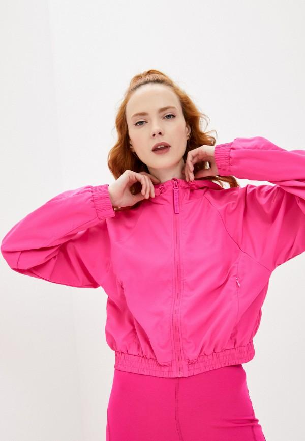 женская ветровка juicy couture, розовая