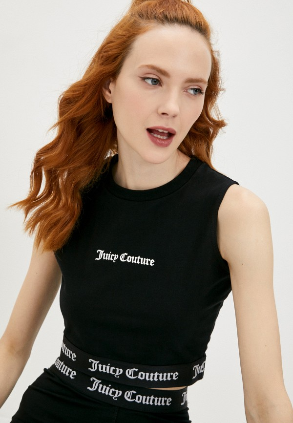 женский топ juicy couture, черный