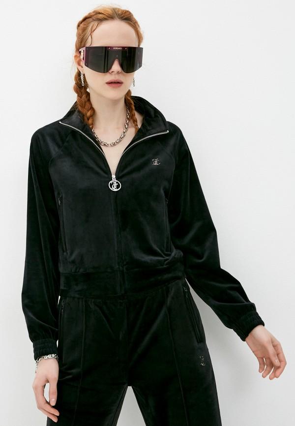 женская олимпийка juicy couture, черная