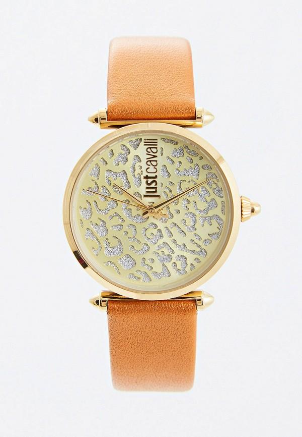 женские часы just cavalli, оранжевые