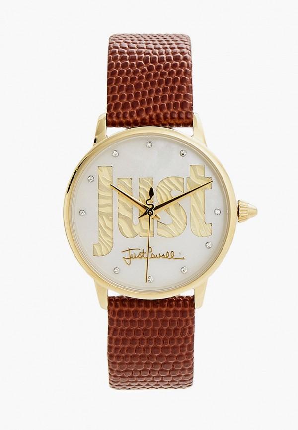 женские часы just cavalli, коричневые
