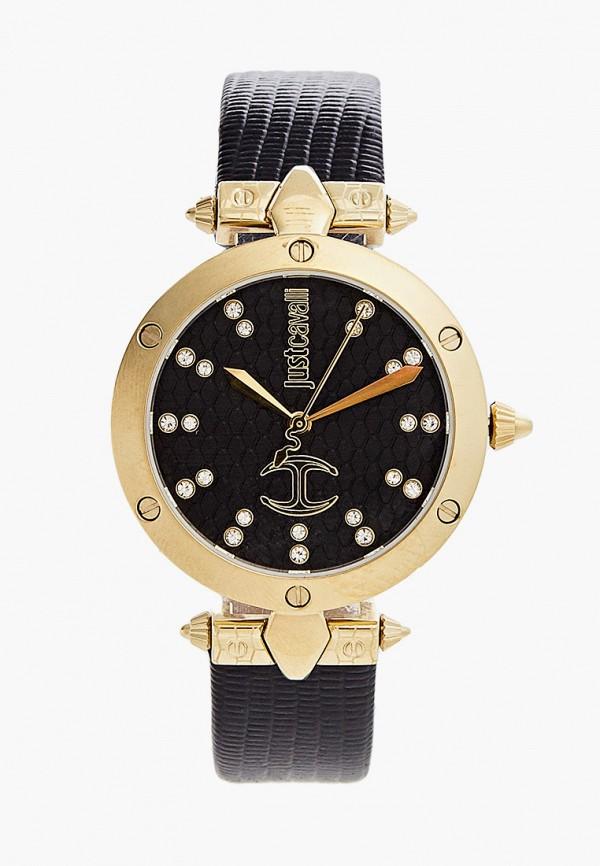женские часы just cavalli, черные