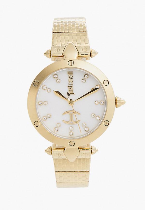 женские часы just cavalli, золотые
