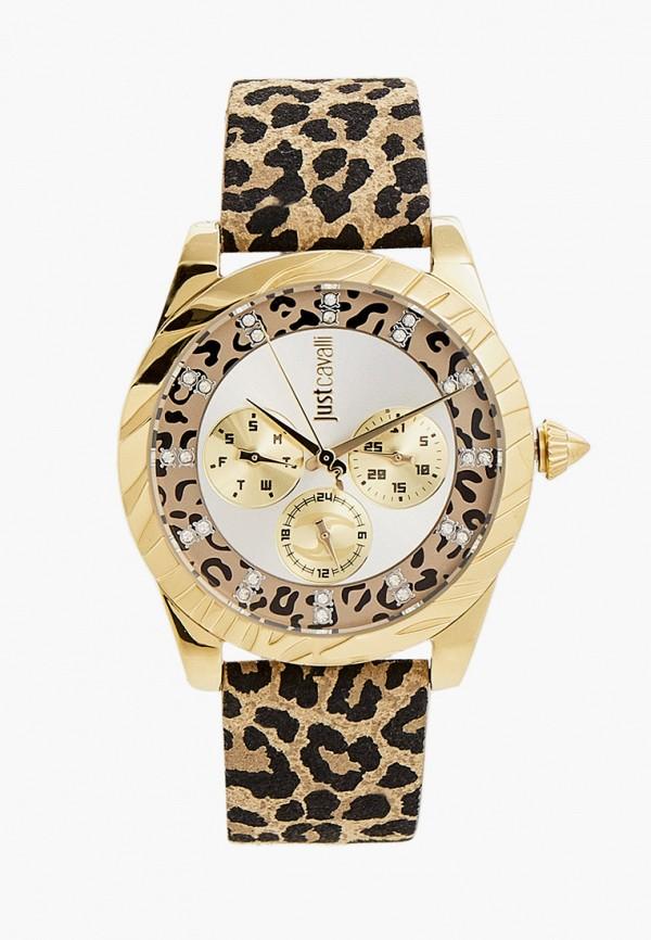 женские часы just cavalli, бежевые