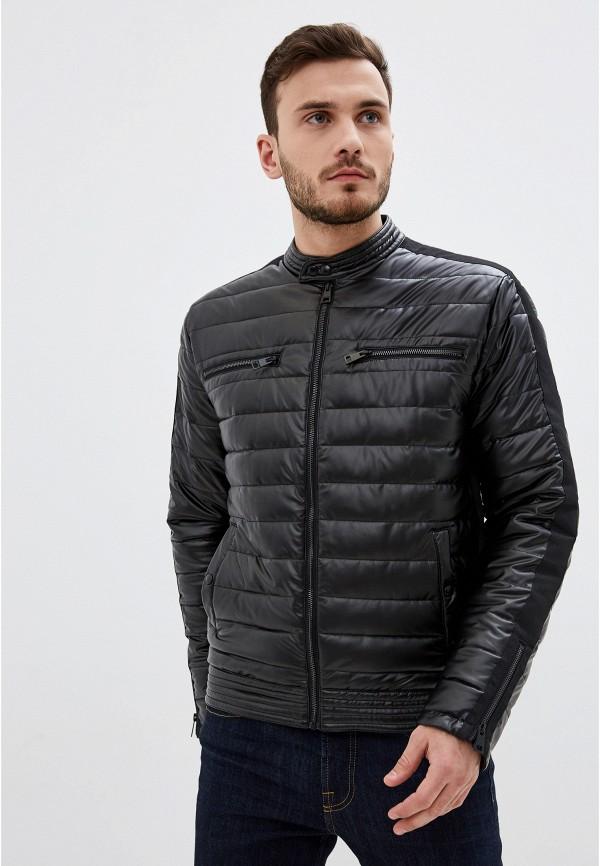 мужская утепленные куртка just cavalli, черная