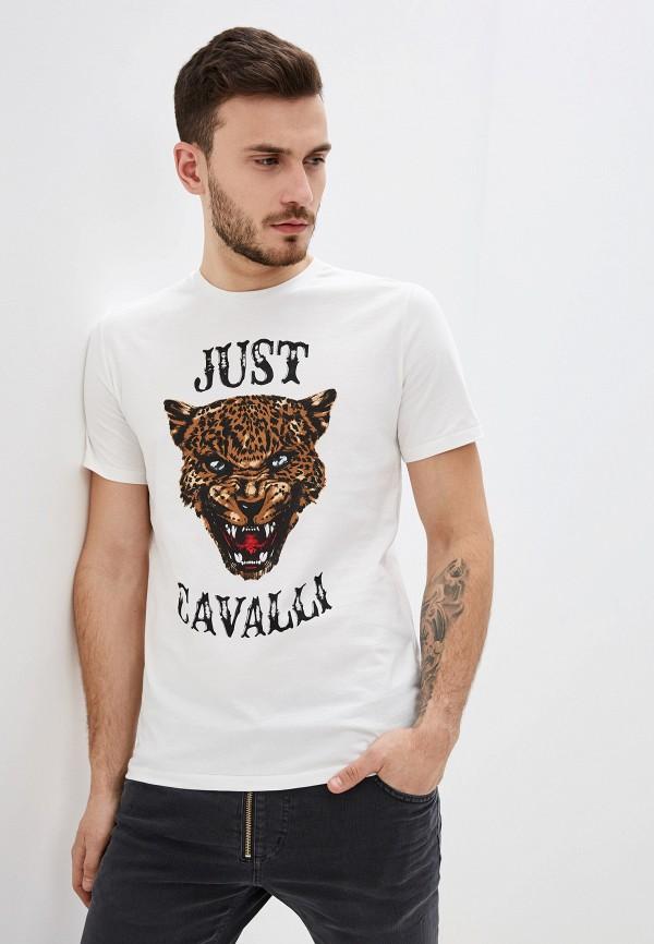 Футболка Just Cavalli Just Cavalli JU662EMHIZV1 брюки just cavalli белый