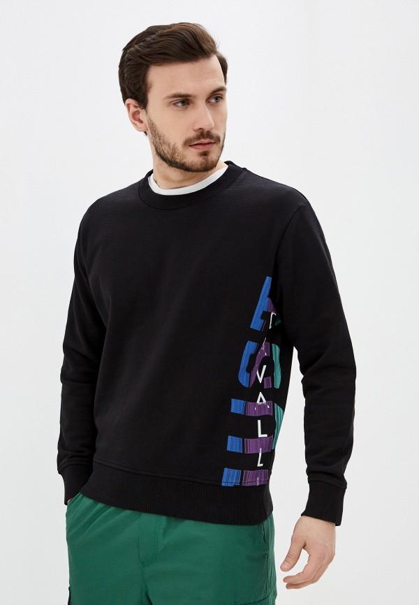 мужской свитшот just cavalli, черный
