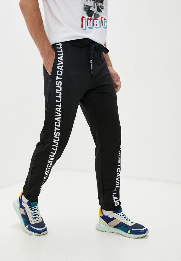 мужские спортивные брюки just cavalli, черные