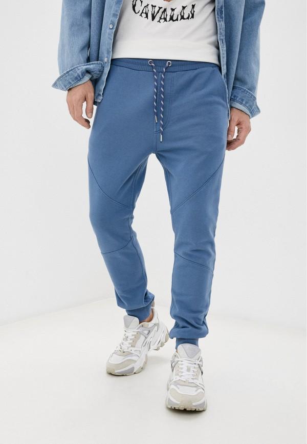 мужские спортивные брюки just cavalli, голубые