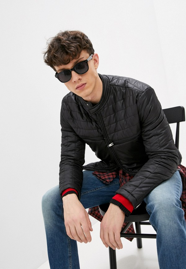мужская куртка just cavalli, черная