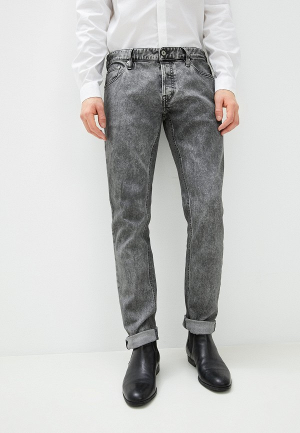 мужские прямые джинсы just cavalli, серые
