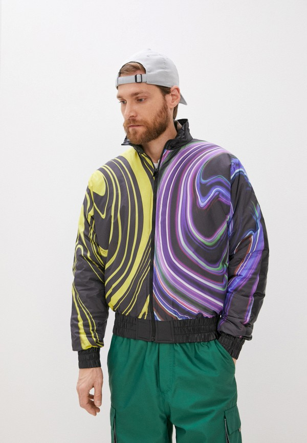 мужская куртка just cavalli, разноцветная