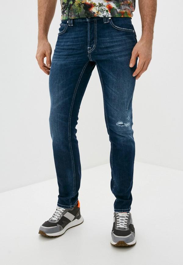 мужские прямые джинсы just cavalli, синие
